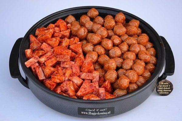 Kipfilet gehaktballetjes pan - Thuisbezorgd en ophalen