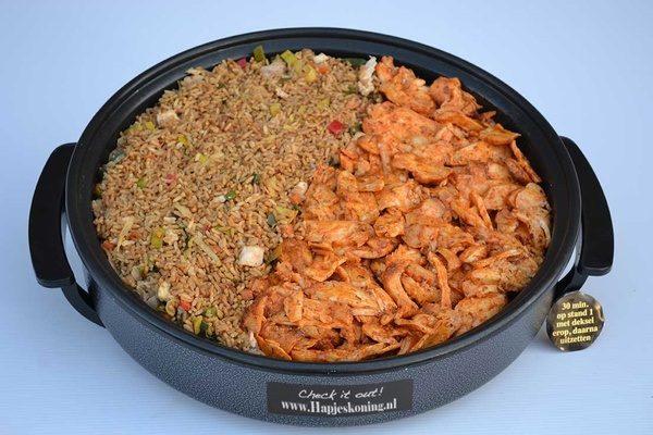 Nasi maaltijd pan- Thuisbezorgd en ophalen